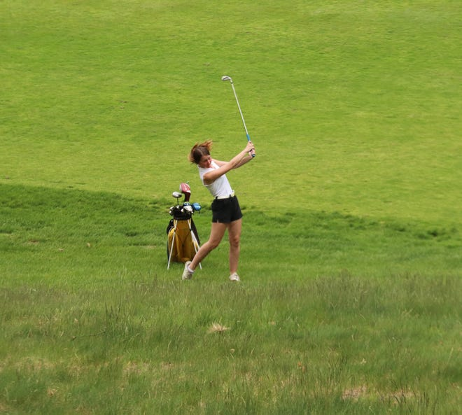 Joslynn Leach qualified for the state tournament as a freshman in 2018, and is one of four seniors on the Crookston girls' golf team.
