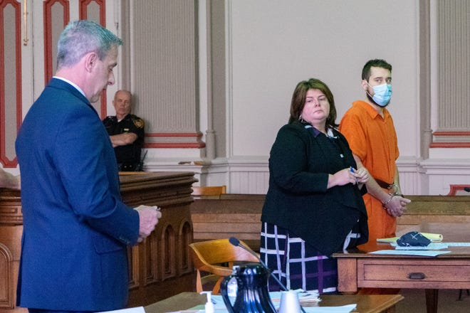 Christian Harmon is sentenced to the possibility of life in prison for raping a child in exchange for nude photos. He is already serving an eight-year sentence for throwing a crying baby to the ground. The baby was treated for a skull fracture, traumatic brain injury, bleeding on the brain, hemorrhaging eyes, spinal damage and broken bones.