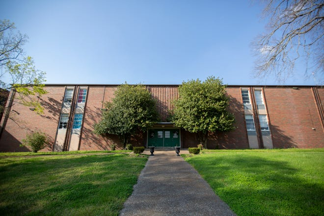 McDowell Elementary School is the oldest operating campus at Maury County Public Schools. The campus, located in Columbia, Tenn., is quiet without students during spring break on Tuesday, April 6, 2021.