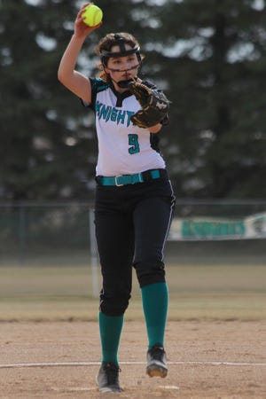Dakota Prairie fell to Harvey-Wells County 23-1 on April 6 at the McVille Baseball Field.