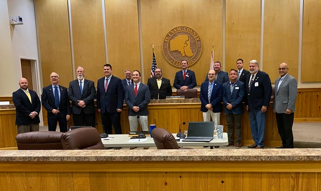 Officials from St. Johns, Flagler and Putnam counties came together to discuss economic development issues earlier this month.