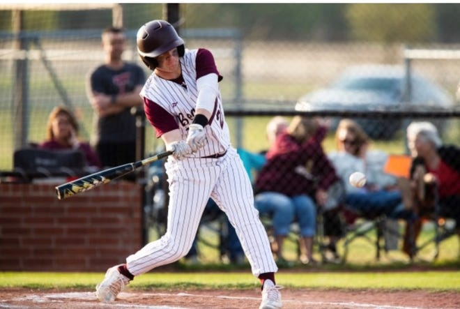 Whitesboro's Paul Griffith hit a grand slam and drove in six runs during the Bearcats' victory over Callisburg in District 10-3A play.