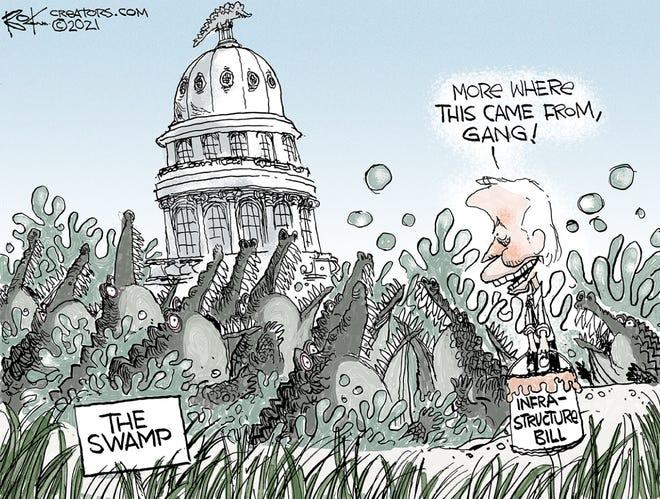 Today's editorial cartoon (April 8, 2021)