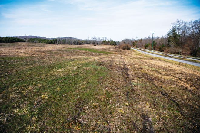 """A motorsports park was proposed for this parcel of land along Renovare Boulevard off of the Oak Ridge Turnpike in west Oak Ridge. However, on Tuesday, April 6, developer H.R. """"Rusty"""" Bittle announced he would take his proposal, which had many in the area voicing opposition, to another community yet to be named."""