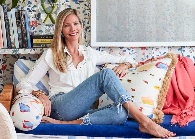 Palm Beach interior designer Ellen Kavanaugh is making her second appearance at the Kips Bay Decorator Show House, which opened Thursday at a house on the Flagler Drive Waterfront in West Palm Beach.