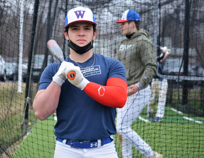 Winnacunnet senior Cam MacDonald is looking for a successful final high school baseball season, and then he will head to St. Joseph's College in Standish, Maine to continue his baseball career.