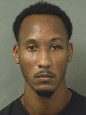 Travis Rudolph, 25, was arrested Wednesday on first-degree murder and attempted first-degree murder charges.