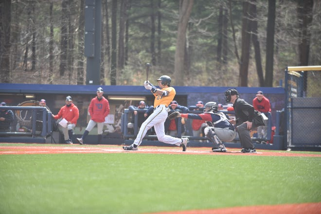 Kent State senior Nick Elsen hit three homers and drove in 10 runs during last weekend's four-game sweep at Bowling Green.