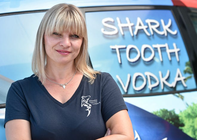 Beata Dale is the owner Shark Tooth Distillery.