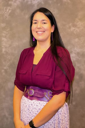 Whitney Gravelle, chairperson of the Bay Mills Indian Community. She was elected on March 19 and her term expires on Nov. 3 at the next general election.