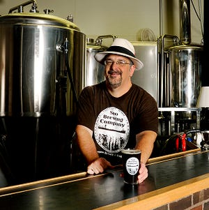 Ray Bauer, owner of Soo Brewing Company in Sault Ste. Marie.