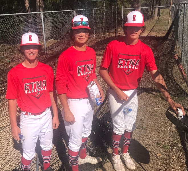 Shawn Graves, Luke Jenner and DaltonDaws have been blazing from the pitching mound this season for the Etna Lions.