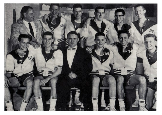 Washburn Rural's 1960 boys basketball team was the first state basketball champion in school history, winning the Class A state title and going 25-1. The team will be inducted into the Washburn Rural Hall of Fame on Thursday.