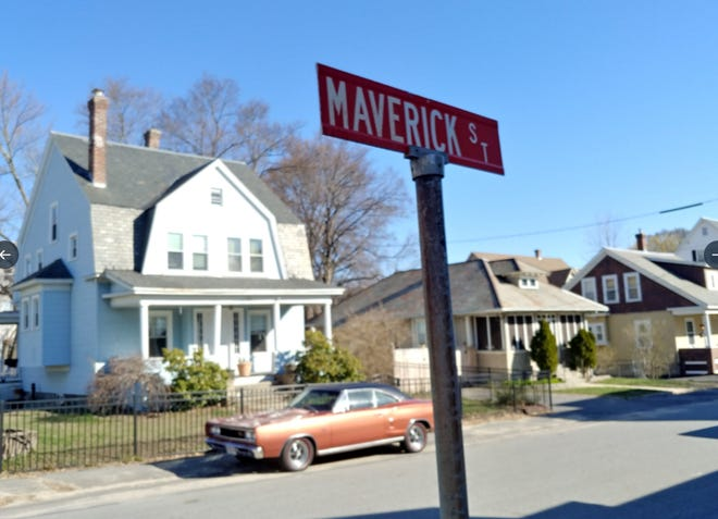 Vintage cars have arrived on Maverick Street in Fitchburg in anticipation of George Clooney, the director, overseeing filming of 'The Tender Bar.' On Tuesday, residents Sarita Laflamme and Mark Peterson, of the house at center, said they were notified that their house will be part of the filming.