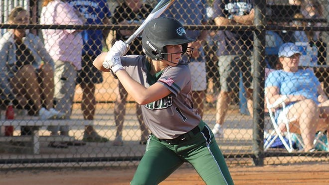 Nichols' Allie Brown had a walk-off walk in the first game and went 2 for 3 with a run and two stolen bases in a doubleheader sweep over Gordon.