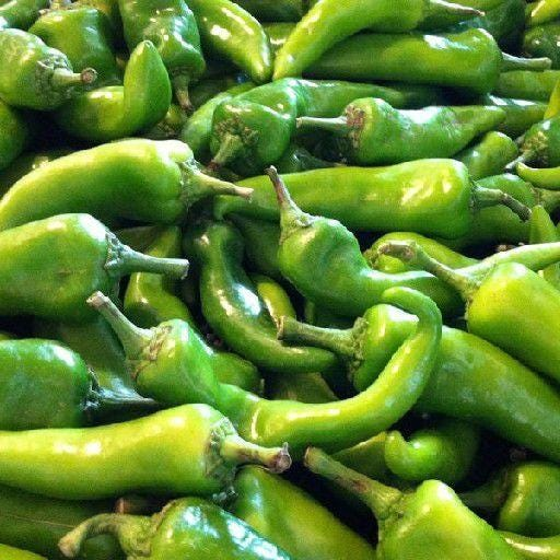 Green chiles are a staple of New Mexico cuisine.