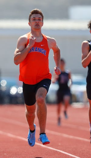 """Senior Joe Gargasz should be one of the top competitors for Orange while specializing in the 400 and 800. Coach Adam Walters is optimistic about the Pioneers' chances this spring, saying """"I like the pieces that we have."""""""