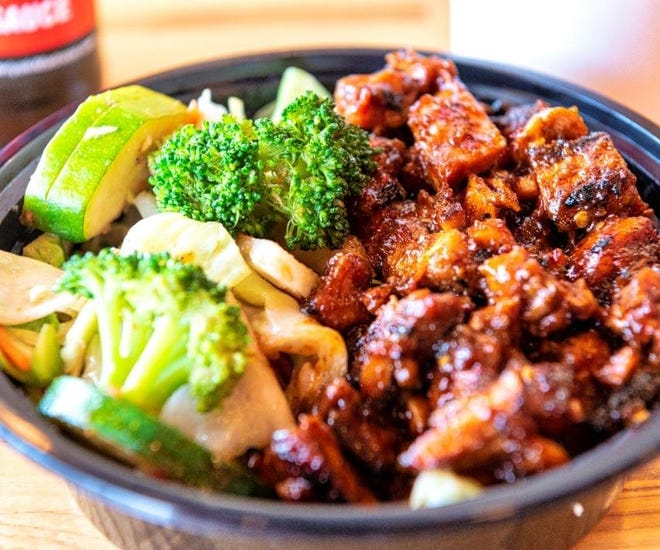 Teriyaki Madness will promote the most popular item on the menu, the spicy chicken, during the monthlong Taste of Westerville.