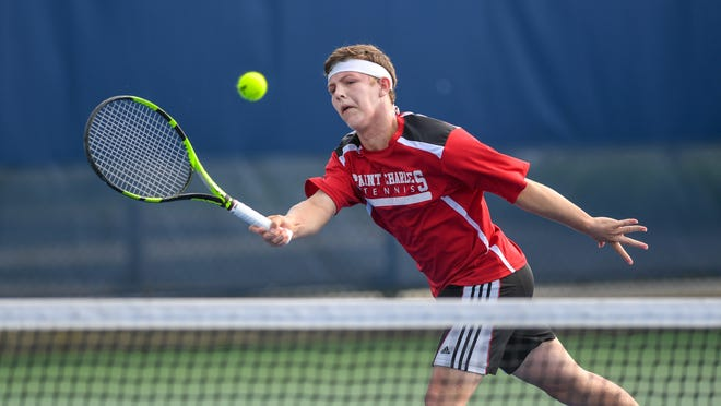 Senior Reece Yakubov, an Ohio State-signee and a state qualifier as a freshman and sophomore, will lead the St. Charles tennis team at first singles.