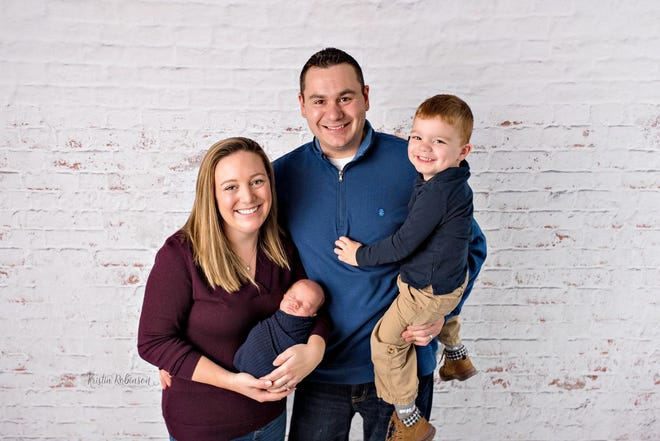 Jeremy Angelos and his wife Jeannie credit South Shore Hospital's Neonatal Intensive Care Unit and Family Integrated Care Unit with helping them know how to care for their son Tyler, (left) and Ethan 4, who were both born prematurely.