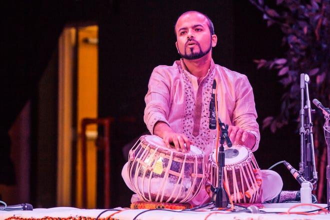 Tabla artist Shankh Lahiri will perform at a classical Indian music concert on Saturday, April 10.