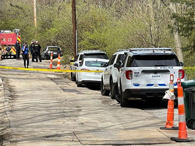 Police found a body inside a burned vehicle in East Price Hill March 30. Homicide detectives are conducting a death investigation