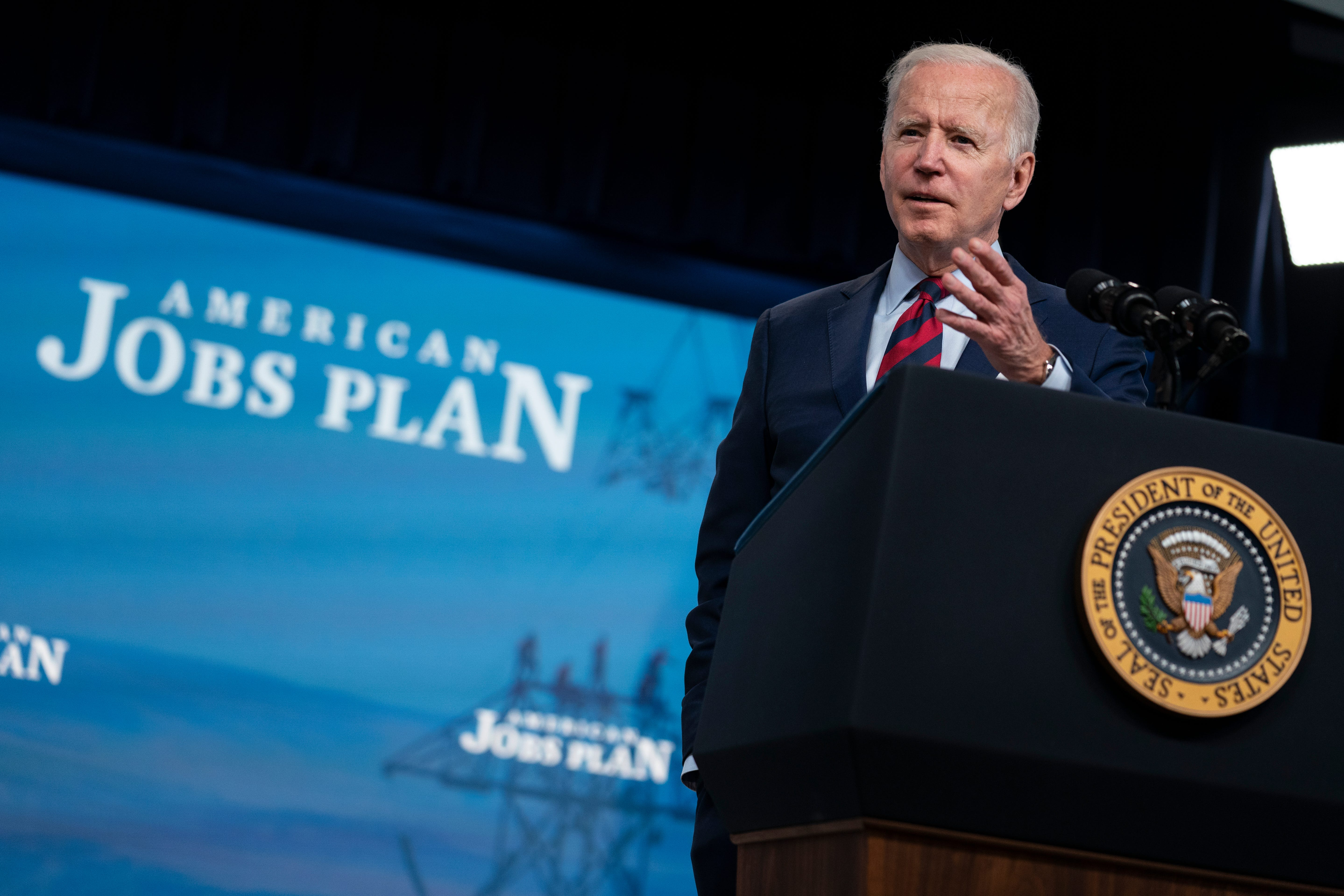 Biden open to compromise on infrastructure, but not inaction 2