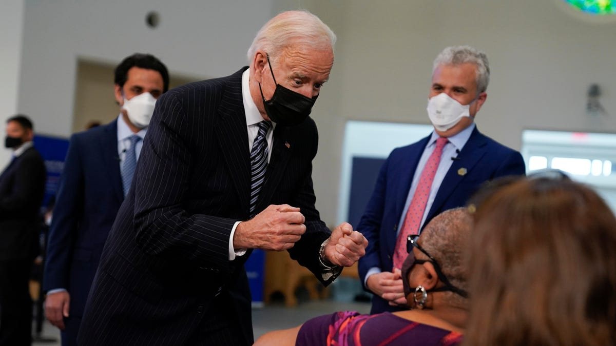 Biden makes all adults eligible for a vaccine on April 19 2