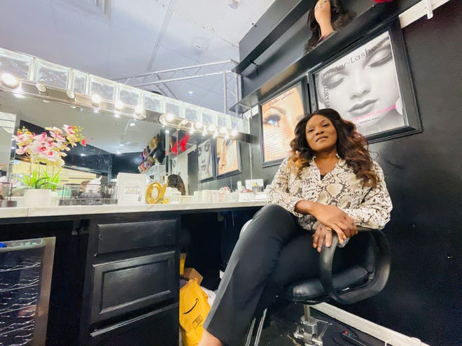 Altemia Diggs, owner of De'Mar-Shawn's Makeover Studio and De'Mar-Shawn's hair stylist academy,  helped partner with the Edison Mall to create a Black business expo, April 9-11. There will be more than 100 vendors.