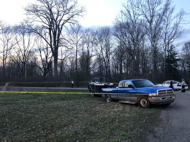 Police are investigating after a body was found in a Pike Township neighborhood on Tuesday night.