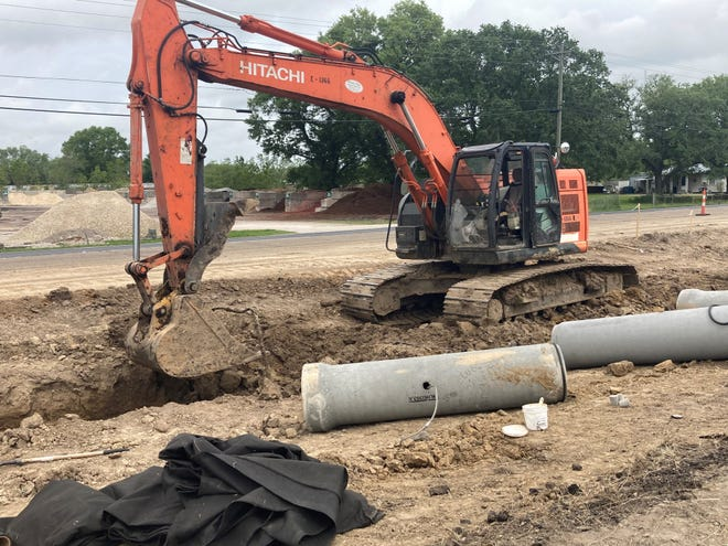A gas leak, accidentally caused by a construction crew, shut down parts of Johnston Street on Wednesday.