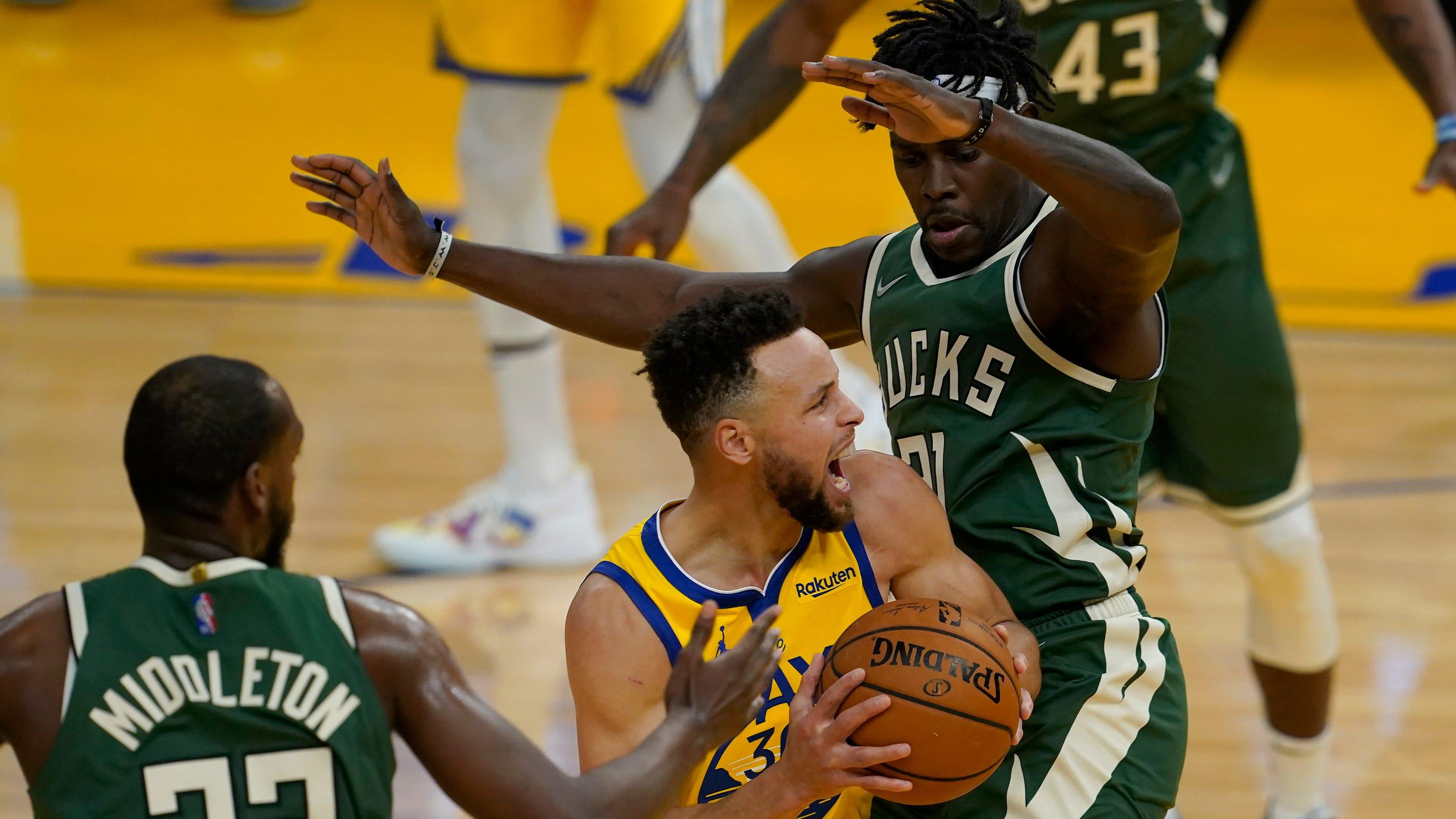 Warriors 122, Bucks 121: Lead slips away in fourth quarter