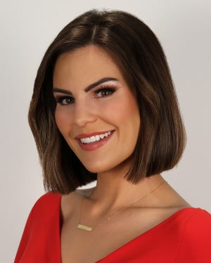 Christina Carilla has been named co-anchor at Fox 10, teaming with John Hook.
