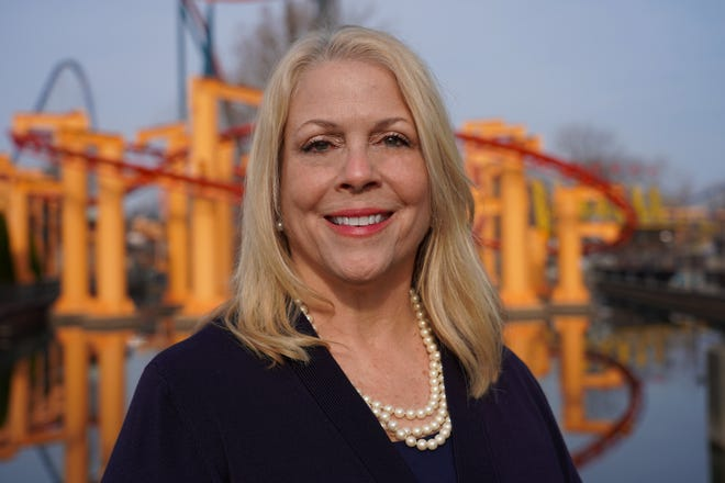 Carrie Boldman has been named vice president and general manager of Cedar Point, the park announced on Tuesday.