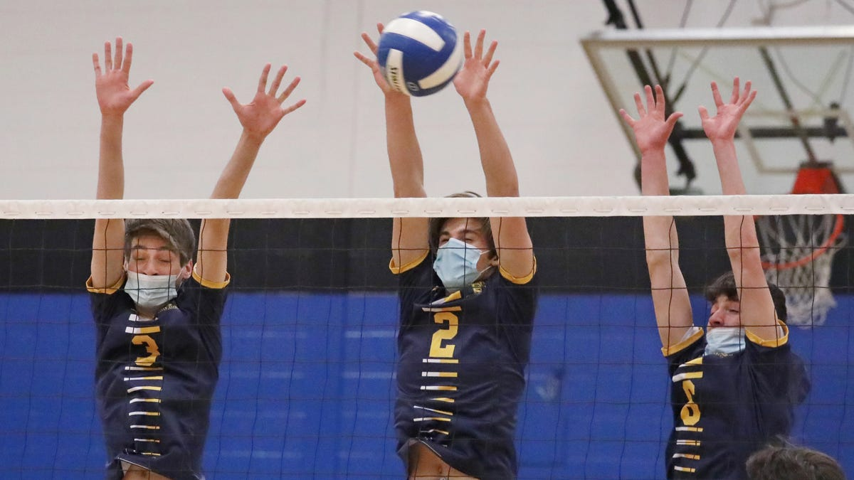 Photos: Spencerport boys volleyball sweeps Brockport
