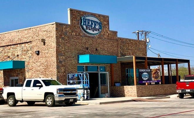 Heff's Burgers, 2902 Sherwood Way, announced an opening date for the San Angelo location.
