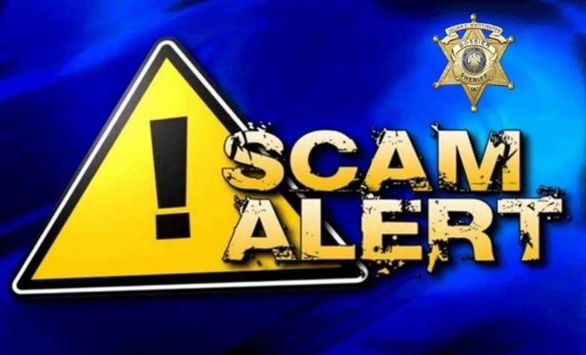 Bossier Sheriff's Office scam alert