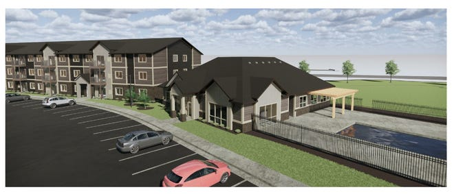 Willow's Edge Apartments will be located in eastern Sioux Falls, near Arrowhead Parkway and Six Mile Road.