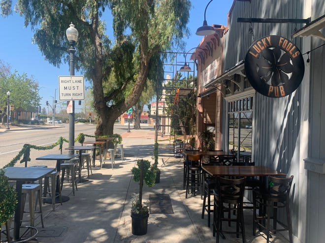 A survey of Moorpark residents found that only 17% gave favorable marks to the vibrancy of the city's downtown, shown here.