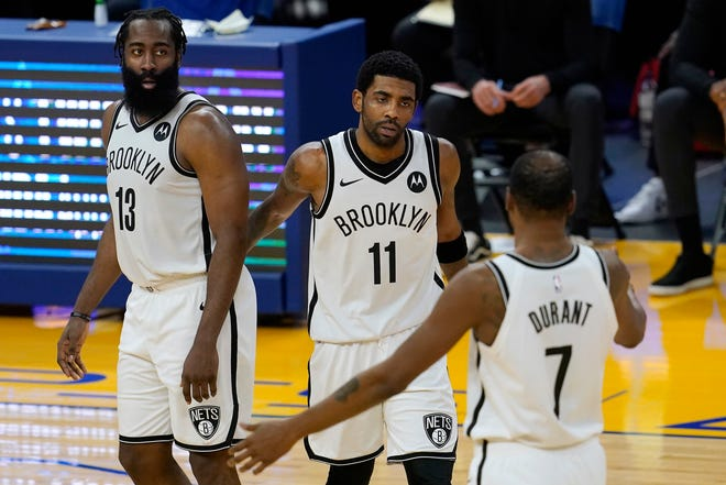 The Nets have shown they are a top team in the Eastern Conference even when they don't have their Big 3 of James Harden, Kyrie Irving and Kevin Durant playing together. But they may need a healthy Big 3 to reach the NBA Finals.