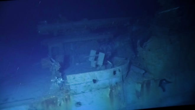 'Deepest wreck dive in history' finds Navy destroyer
