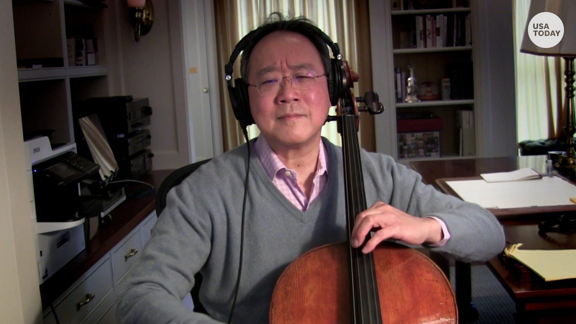 Yo-Yo Ma talks COVID, hope and anti-Asian hate:  Why is anybody surprised?