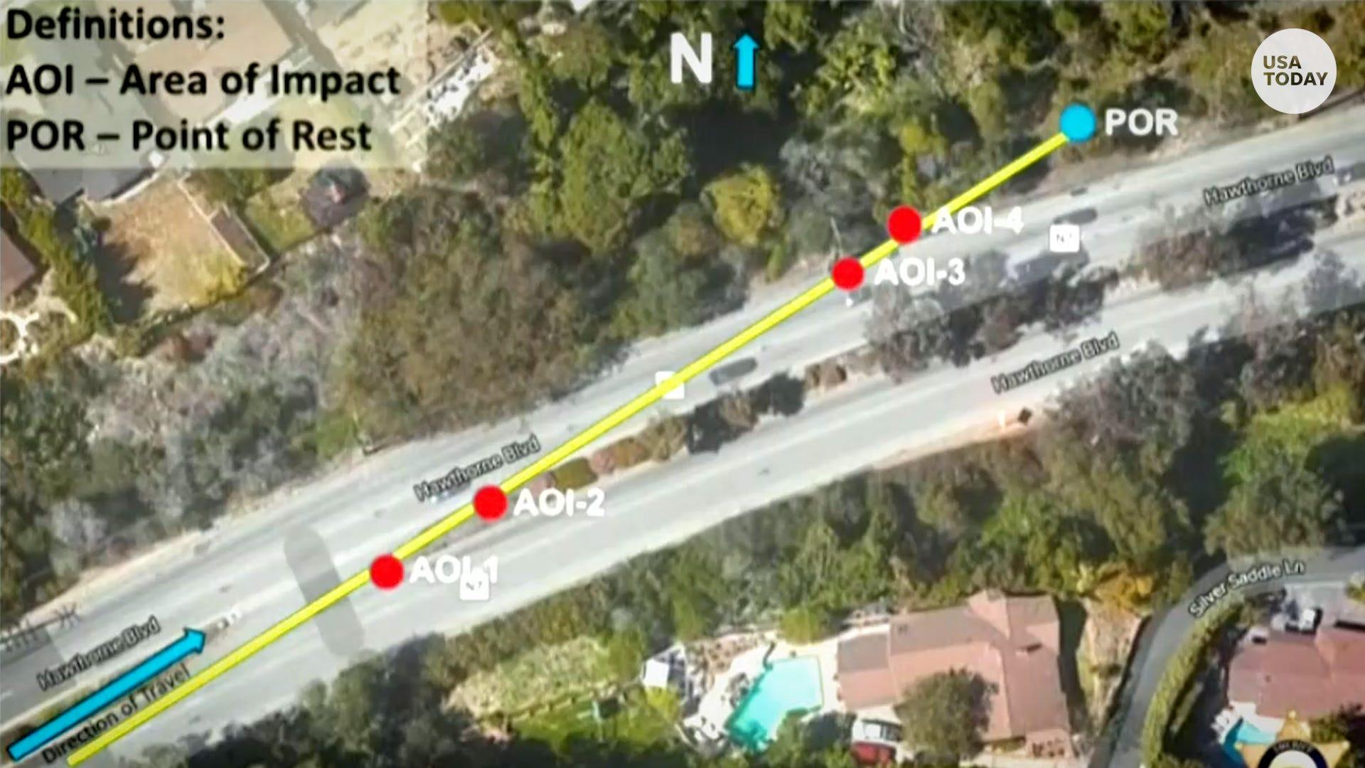 Raport policyjny Tiger Woods jechał 82 mil na godzinę przed wypadkiem bez śladów hamowania