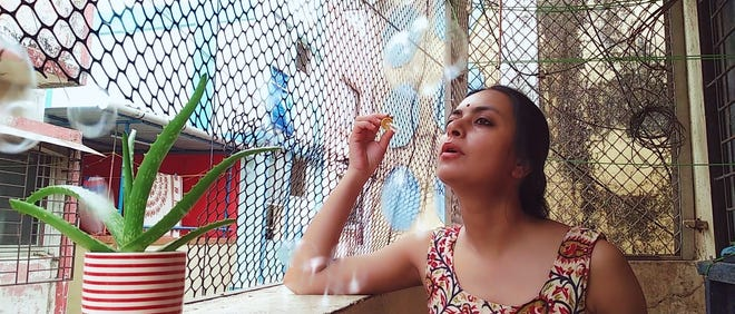"""""""Trivedi Ji"""" tells the story of a woman stuck in her apartment during the COVID-19 pandemic. It's screening during the Indie Meme Film Festival."""