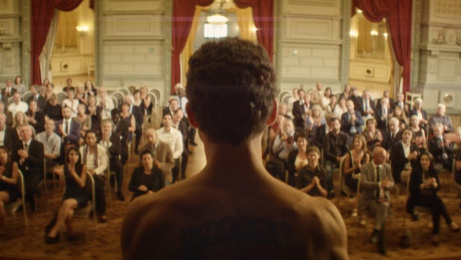 """Yahya Mahayni stars in 2021 Oscar nominee """"The Man Who Sold His Skin,"""" available for streaming rental at athenscine.com on April 16."""