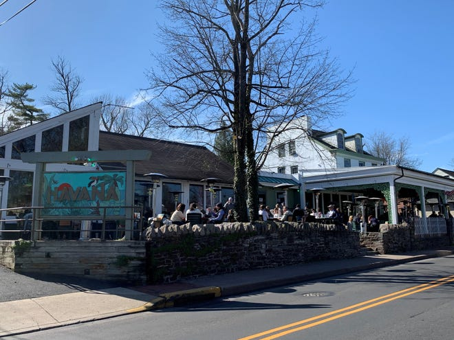 Havana has long been one of the most popular places to dine outdoors in New Hope, as well as to hear live music.