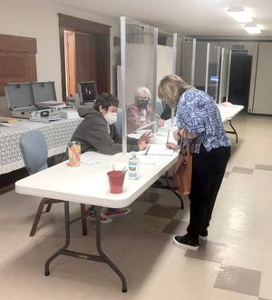 Cooper County Clerk Sarah Herman said Boonville and Cooper County had 17.88 percent voter turnover for the Municipal General Elections on Tuesday, April 6.