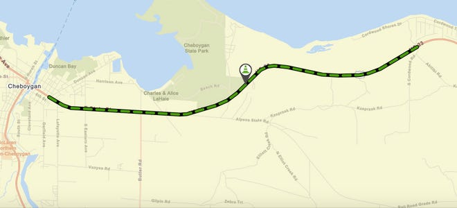 Beginning by April 12, the Michigan Department of Transportation will be reconstructing a portion of US-23 from east of Duncan Avenue to east of Cordwood Road. The portion in the City of Cheboygan will also have a detour while other aspects of the project are completed.
