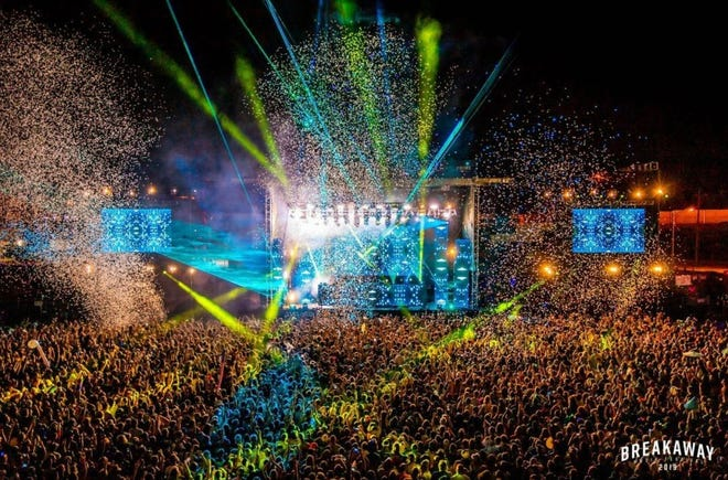 The Breakaway Music Festival is set to take place Sept. 3-4 in Columbus.