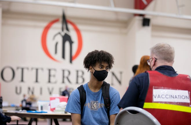 Otterbein Univesity in Westerville joins a growing list of colleges and universities in Ohio that have announced that they will be requiring students, faculty and staff members to show proof that they've been vaccinated against COVID-19.